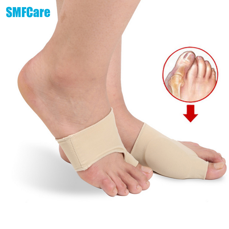2pcs hallux valgus toe separator soft bunion correction corrector medical device foot care braces to correct