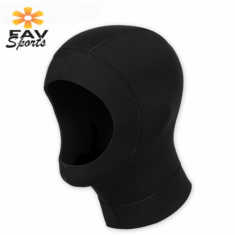 Favsports Swiming Hat Dive Cap Ultrathin Underwater Snorkeling Mask Hood Cap Snorkeling Swimming Equipment Keep Warm Hat Promote The Production Of Body Fluid And Saliva