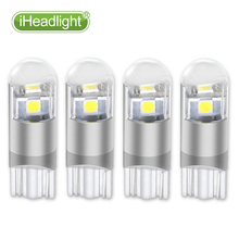 4PCS W5W T10  3smd led car dome light Car 194 168  Bulb Lamp Side Wedge Interior Parking External Lights DC12V/24V Side marker