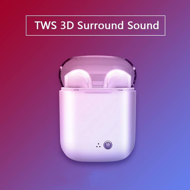 New Twins Bluetooth Earphone Stereo Headphones Sport Headset Bluetooth 4.2 Wireless Mini Earphones Earpiece for Phone Xiaomi