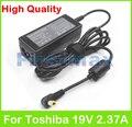 19 В 2.37A 45 Вт ноутбук AC адаптер питания зарядное устройство для Toshiba AC100 Кира 101 10D AT01S Libretto W100 W105 Mini NB100 NB105