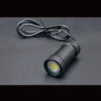 ROV openroсветодио дный V Светодиодный прожектор Подводное освещение лампы 300 м глубина воды 3500 Вт люмен 55 Вт высокое мощность дистанционное упр