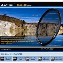 Zomei 77 мм Ультра Тонкий CPL Фильтр Хойя CIR-PL Циркулярный Поляризационный Поляризатор Фильтр для Pentax Olympus Объектив 77 мм