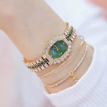 Luxury Women Watches Diamond Famous Brand Elegant Dress Quartz Watches Ladies Rhinestone Wristwatch Relogios Femininos - DISCOUNT ITEM  65% OFF All Category