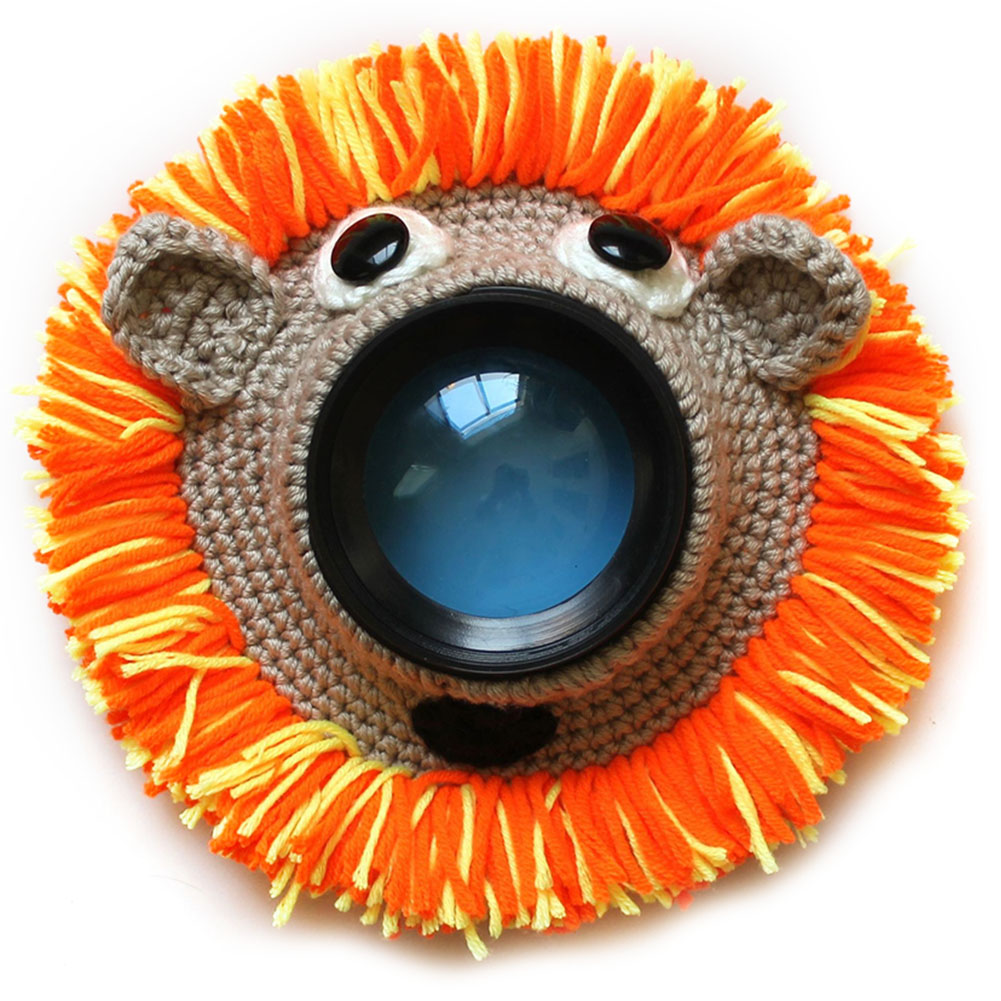 Posing Shutter Hugger Pet Cute Animal Kid Handmade Photography Props Child Knitted Teaser Toy Lens Accessory Camera Buddies