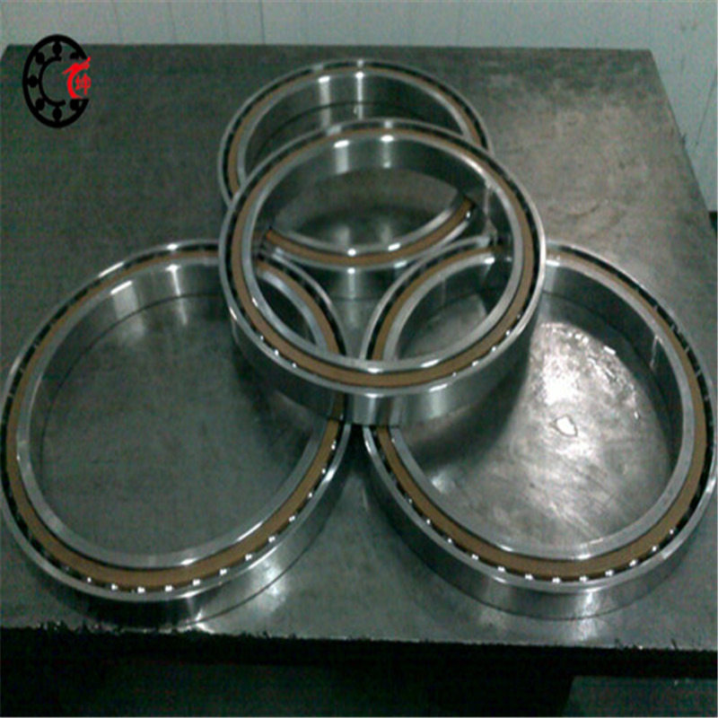 90mm diameter Angular contact ball bearings 7018 AC/P4 90mmX140mmX24mm,Contact angle 25,ABEC-7 Machine tool