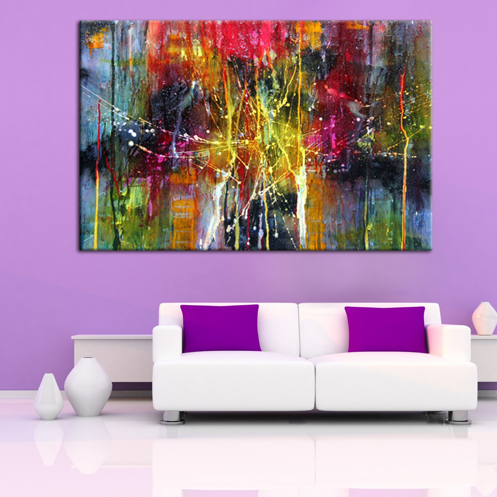Modern abstract art handmade oil painting on canvas for wall modern abstract art handmade oil painting on canvas for wall decoration in painting calligraphy from home garden on aliexpress alibaba group amipublicfo Images