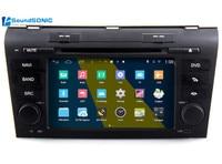 For Mazda 3 2003 2009 Android 4.4 Autoradio GPS Navigation Nav Car Media DVD Player Radio Stereo Bluetooth Head Unit