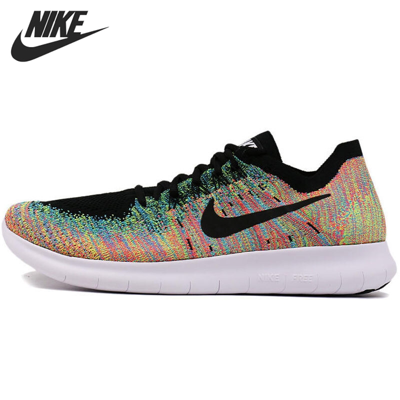 Original New Arrival 2017 NIKE FREE RN FLYKNIT Mens Running Shoes Sneakers