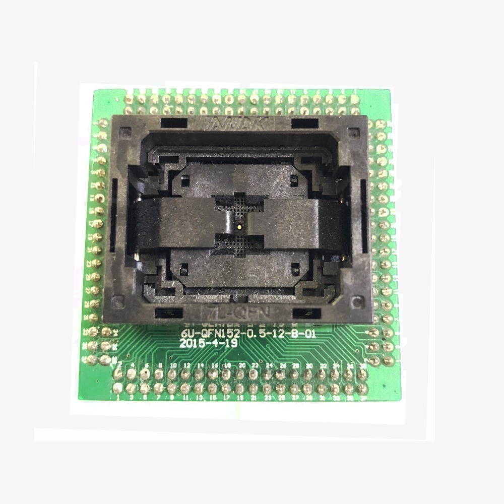 QFN40 MLF40 NP506 040 016 C G IC Test Socket Open top Chip Size 6*6 Flash Adapter Connector Programming Socket ZIF adapter