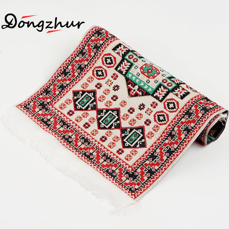 Hand Woven Turkish Rugs Doll House Mini Carpet Mat Miniature Casa De Boneca For 1:12 Scale DIY Dollhouse Accessories Kit WWP7558 miniature dollhouse on table 1 12 scale house shape showcase