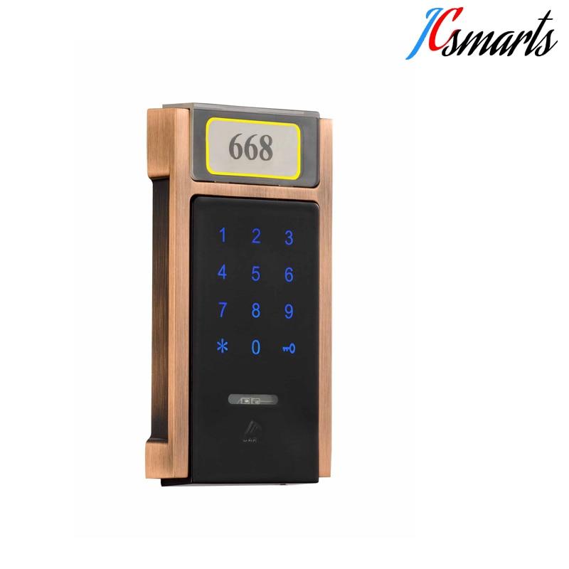 Zinc alloy intelligent keyless cabinet lock, sauna lock, office code private lock zinc alloy filing cabinet lock silver