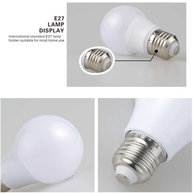 E27 Led Ampoule SMD 2835 3W 5W 7W 9W 12W 15W 18W lampe de nuit cfl Ampoule 110V 220V projecteur lumière Lampada Diode décor à la maison Ene