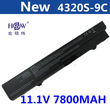 7800MAH 9-cell Laptop battery For HP ProBook 4320 4320s 4321 4321s 4320t 4325s 4326s 4420s 4421s 4425s 4520 4520s 4525s 4720s замена абсолютно новый аккумулятор для ноутбука hp probook 4525s 4520s 4425s 4421s 4420s 4320s 5200mah новый аккумулятор для ноут