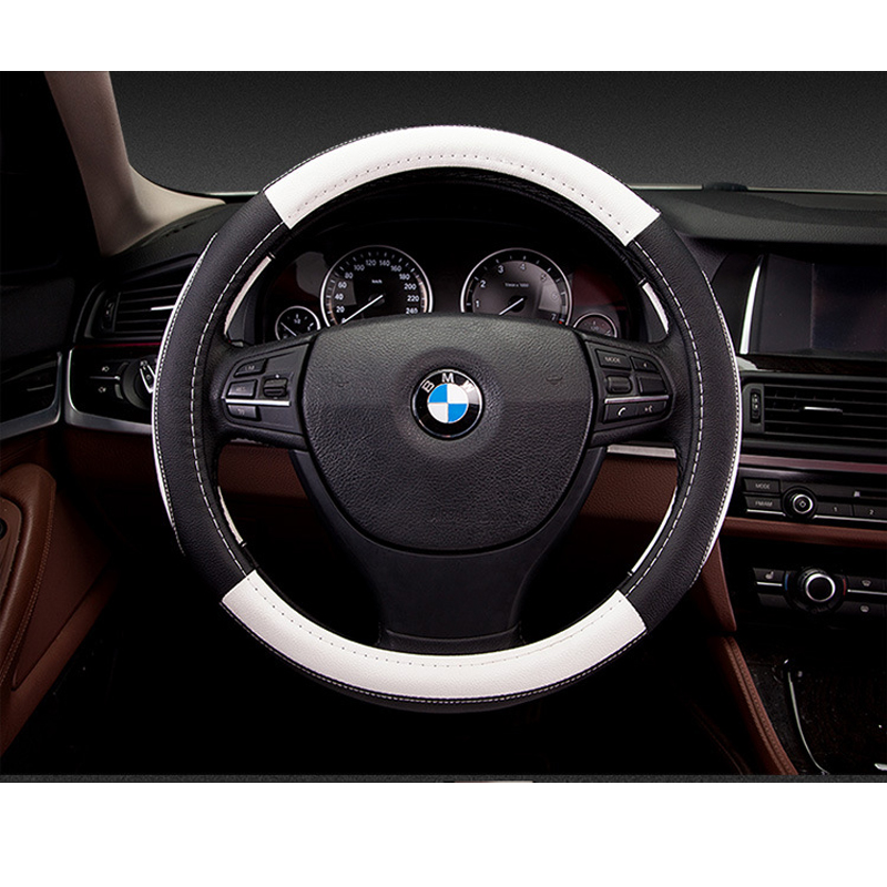 Nuevo deporte de lujo cubierta del volante del coche Seansons - Accesorios de interior de coche - foto 4