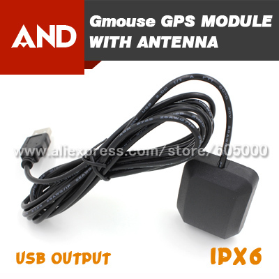 Free Shipping Gps Smart Antenna Usb Gps Receiver Gps Mouse For Laptopexternal Gps Receiver