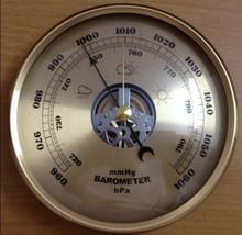 Механические анероид 130 мм daimeter атмосферное манометр метеостанция украшения дома подарок