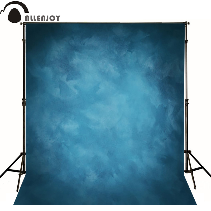 Allenjoy Thin Vinyl cloth photography Backdrop blue Background For Studio Photo Pure Color photocall Wedding backdrop MH-076 allenjoy thin vinyl cloth photography backdrop blue pure color photography background for studio photo props mh 089