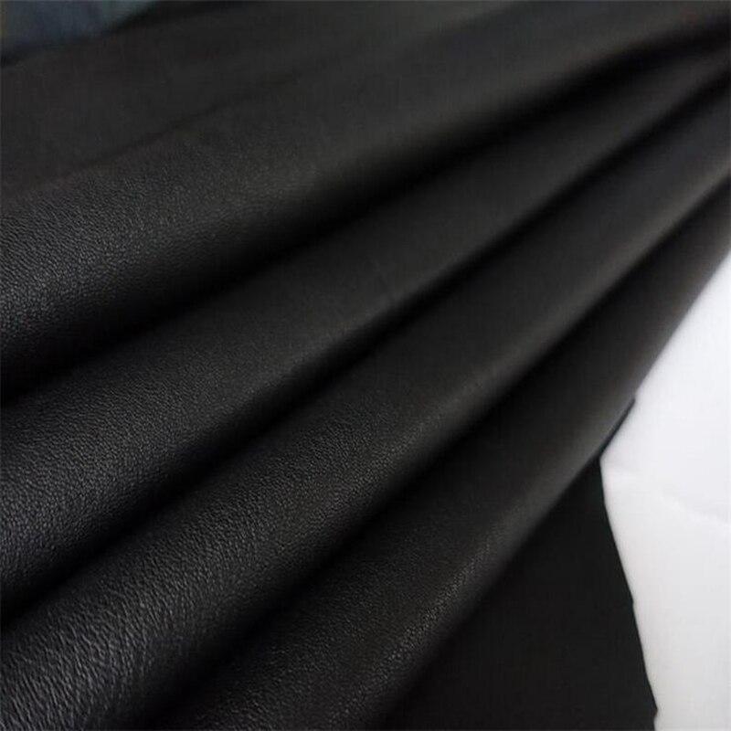 Qualité supérieure réel peau de chèvre en cuir Véritable en cuir suède Main bricolage en cuir tissu épais et doux toute la peau
