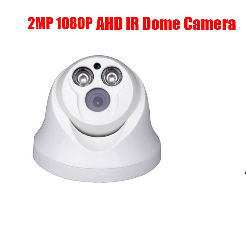 free shipping HD Surveillance IR Dome CCTV Camera 2MP AHD Camera 1080P Security IR 20M Nightvision Work For AHD DVR security analog hd 2mp 1080p ahd camera indoor ir 15m ir cut filter dome cctv 2 0mp ahd camera work for ahd dvr