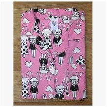 Pajamas For Women Spring And Autumn Cotton Pajamas Flange Flannelet Sleep Animal Women's Sleepwear Lounge Pajama Set