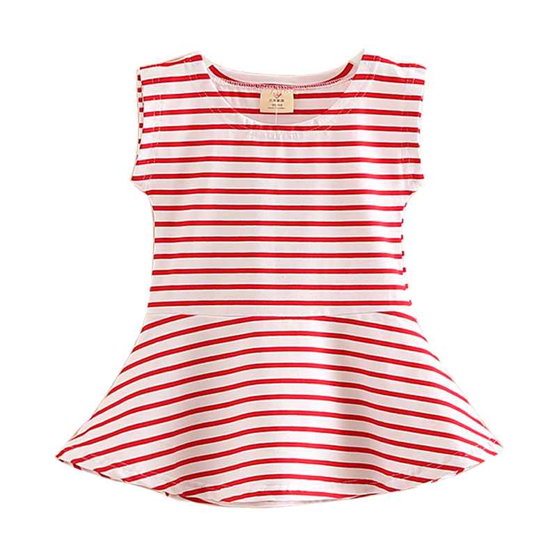 Jomake Girls Summer Dress 2018 New Casual Baby Girl -4576