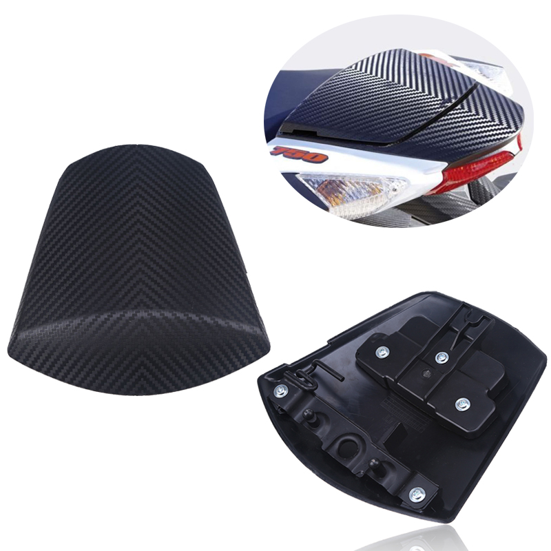 Fit Suzuki GSXR600 GSXR750 GSX-R 600 750 GSXR 600 2011 2012 2013 2014 2015 2016 Motorcycles Carbon Black Rear Seat Cowl Cover motorcycle rear seat pillion passenger cover tail section solo fairing cowl for suzuki gsxr600 gsxr750 gsxr 600 750 2006 2007