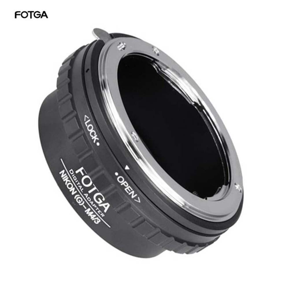 Fotga adaptador anel para nikon g AF-S lente para micro 4/3 m4/3 adaptador para ep1 ep2 gf1 gf2 gf1 gh1 gh2 g1