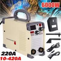 220V AC 10 420A Handheld Mini MMA DC Inverter Welding Machine For Welding Working Accessories Welder Inverter Machine Tool Hot