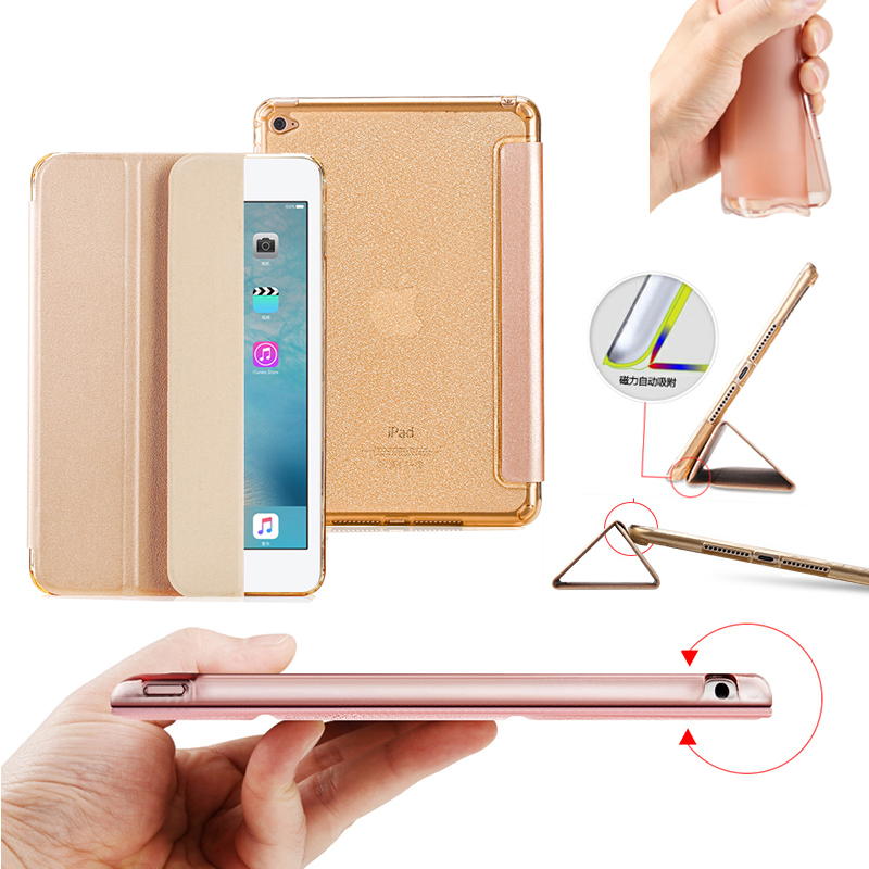 Niza funda de cuero TPU flexible para apple ipad mini 4 cubierta - Accesorios para tablets