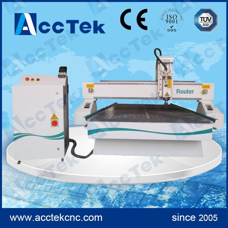 Table Cnc Wood Cutting Machine ,3.5kw  Air Cooling Spindle ,DSP Control System ,stepper System,heavy Duty Machine Frame