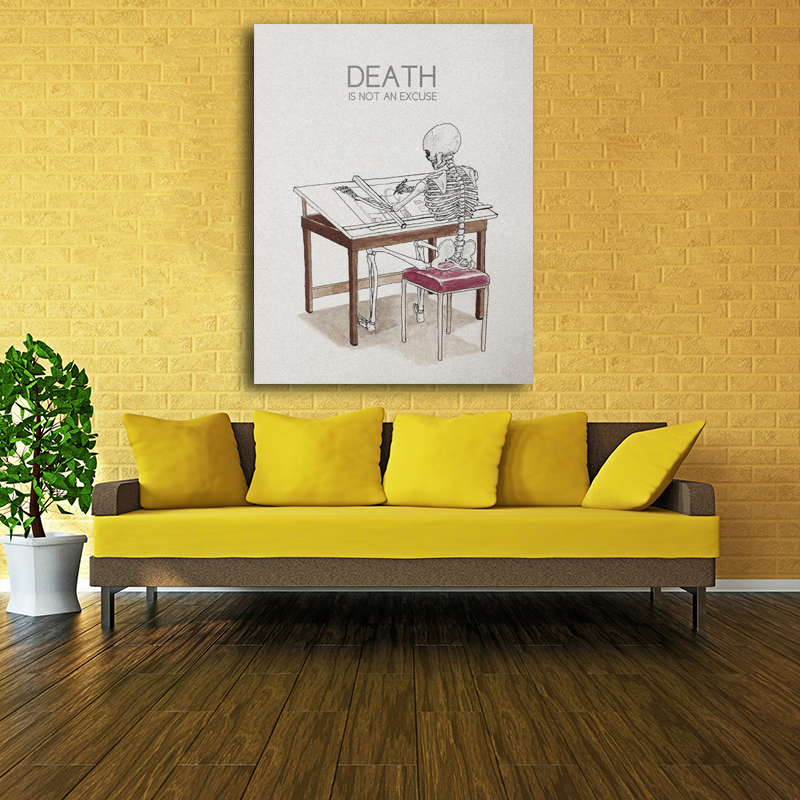 Aliexpress.com : Buy Unframed Of Harry Potter And The Deathly ...
