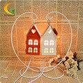 Bedroom bedside lamp dimmer incandescent lamp lighting creative Nightlight Morocco hollow iron salt lamps nightlig