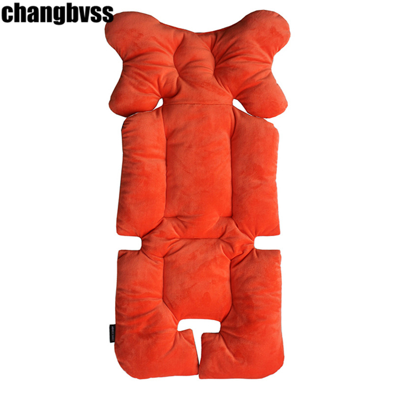 New Baby Stroller Accessories Cushion Baby Dining Chair Cushion Breathable Stroller Padding Liner Car Covers Stroller