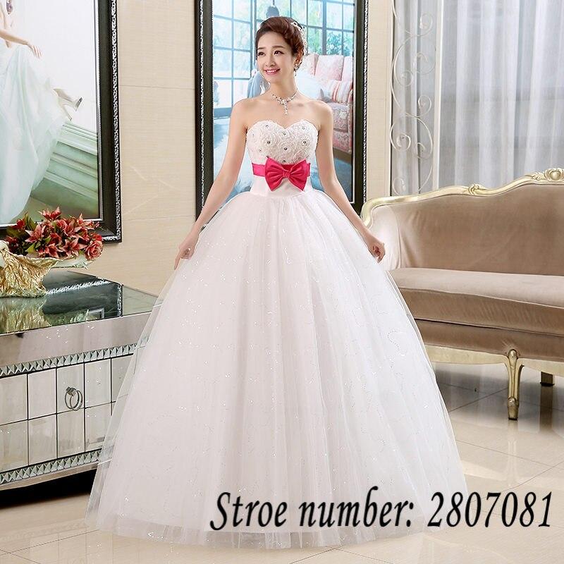 Online get cheap hot pink wedding dress for White and hot pink wedding dress