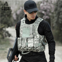 Men's Tactical Vest Hunting Military Airsoft Camouflage Military Uniform Combat Vest Colete Tatico Army Clothing US Navy Seal