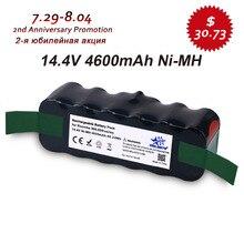 Actualizado Capacidad 4.6Ah 14.4 V NIMH batería para iRobot Roomba 500 600 700 Serie 800 510 530 550 560 620 650 770 780 870 880 R3