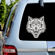 11*10cm Car Decoration Animal Stickers 3D Lion/Tiger Decal Auto Styling Accessories