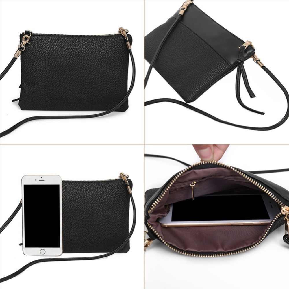 Women PU Sling Shoulder Bag Small Satchel Handbag Shoulder Bags Messenger