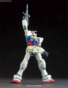 Image 4 - Bandai Gundam 96716 HGUC 191 1/144 RX 78 2 Mobile Suit assemblare kit modello Action Figures modello in plastica