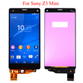 For Sony Xperia Z3 Mini Compact D5803 D5833 Touch Screen LCD Display with digitizer + Adhesive + Tools, Free shipping