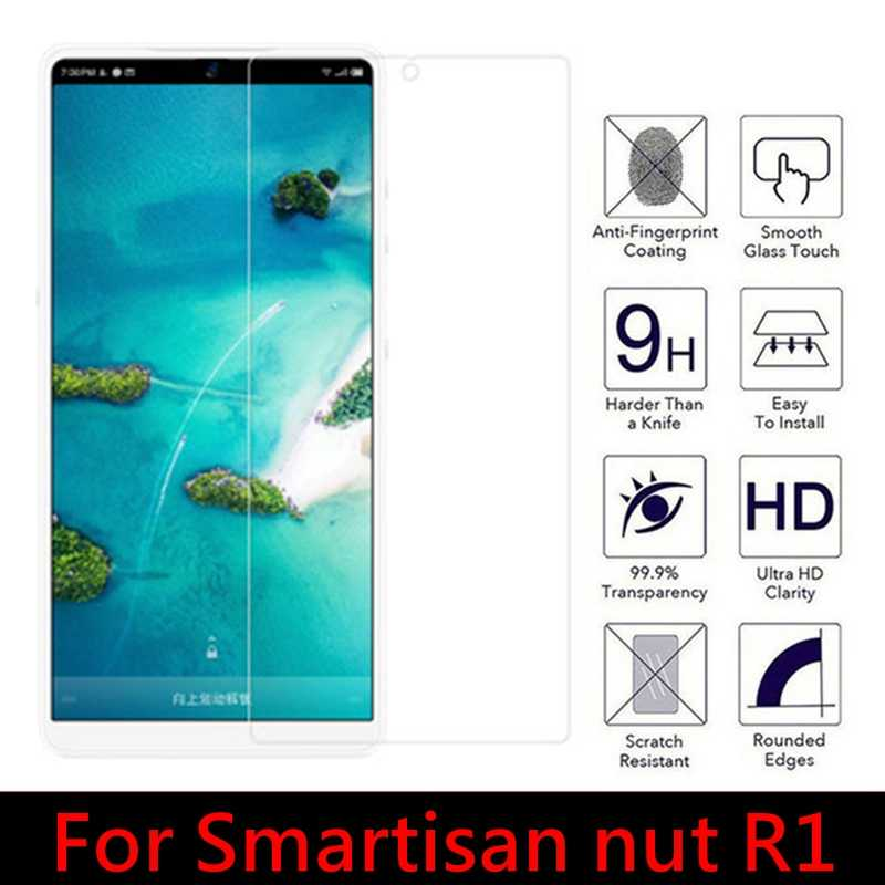 2PCS 2.5D Tempered Glass for Smartisan nut R1 9H High Quality Explosion-proof Protective Film Screen Protector for JianGuo R1