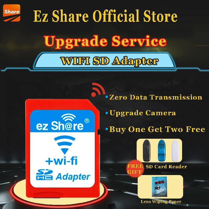 Ez Share Wireless Sd Card Reader Micro Sd Memory Card Adapter ezshare high speed wireless wifi wlan sd card adapter micro ez share sd card to sd wifi adapter 8gb 16gb 32gb tf card