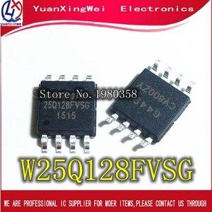 Image 1 - 50 adet W25Q128FVSG SOP8 25Q128FVSG SOP 25Q128 W25Q128FVSSIG W25Q128 SMD yeni ve orijinal IC ücretsiz kargo