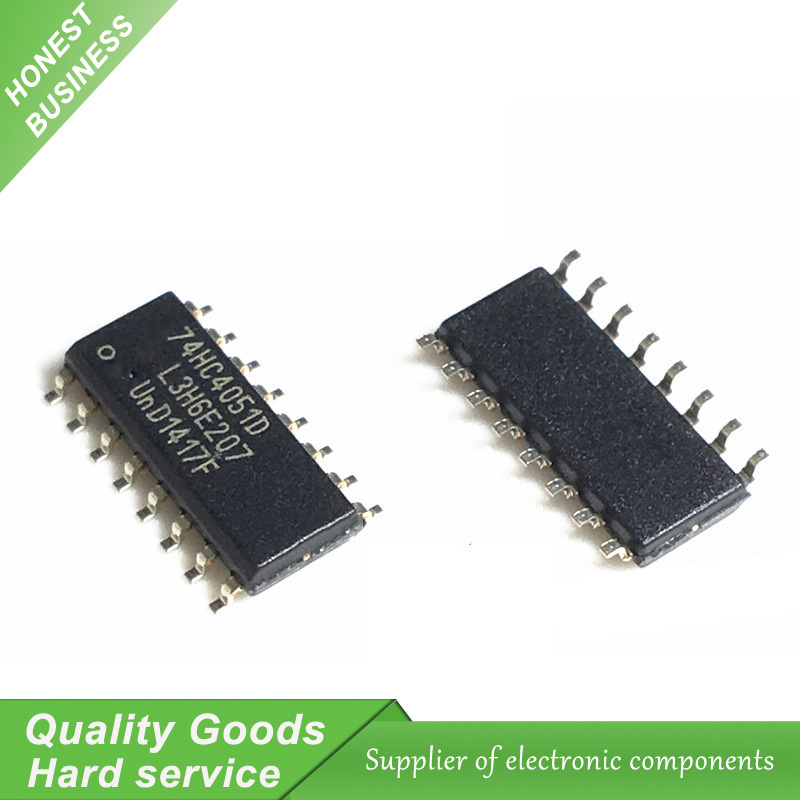 10PCS 74HC4051D SOP-16 74HC4051 Integrated Circuit IC BSG