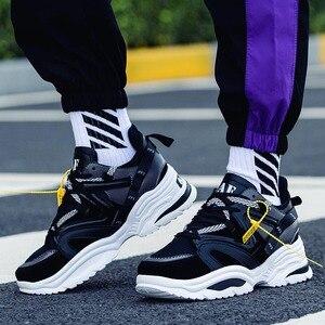 Image 5 - Ayakkabı erkekler 2019 erkek ayakkabı rahat tıknaz moda eğitmenler Tenis Masculino Adulto Chaussure Homme Zapatillas Hombre Deportiva