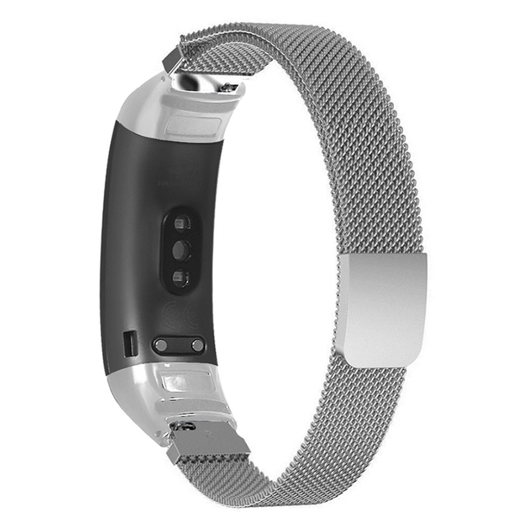 Watchband Replacement Smartwatch Band Magnetic Metal WatchBand Bracelet Replacement WristStrap for Huawei Band 3/3 Pro