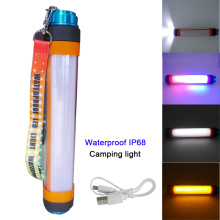 3W/4W/5.5W Portable Dimmable Power Bank Rechargeable Flashing Travel Lamp Waterproof  Flashlight Emergency Lights camping
