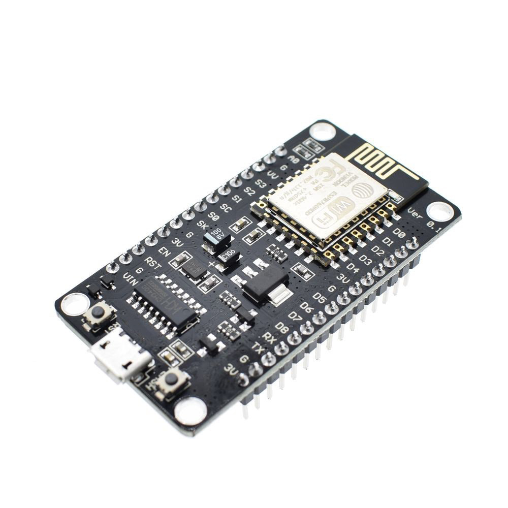 Image 2 - Wireless module NodeMcu v3 CH340 Lua WIFI Internet of Things development board ESP8266 with pcb Antenna and usb port for Arduino-in Integrated Circuits from Electronic Components & Supplies