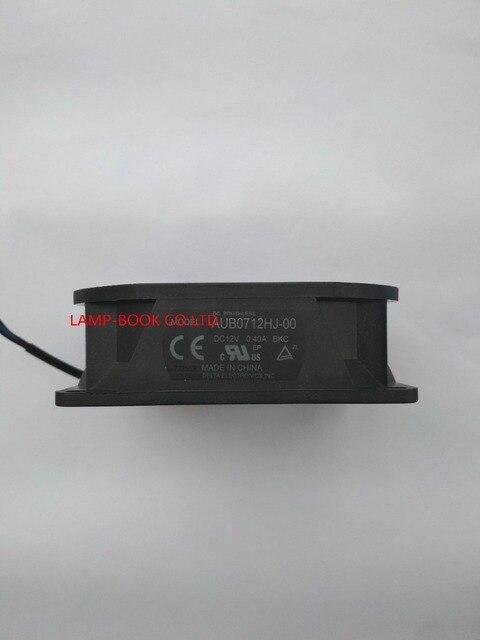 ใหม่AUB0712HJ 00 12V 0.4Aพัดลมสำหรับโปรเจคเตอร์OPTOMA